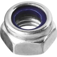 Гайки DIN 985 с нейлоновым кольцом, пакет, серия «ЭКСПЕРТ» Зубр 4-303586-03