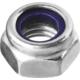 Гайки DIN 985 с нейлоновым кольцом